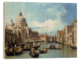 Obraz na drewnie  Entrance to the Canal Venice - Bernardo Bellotto (Canaletto)