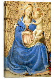 Obraz na płótnie  Madonna with Child - Fra Angelico