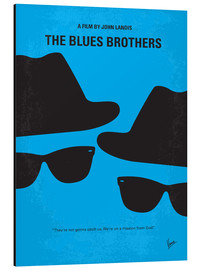 Obraz na aluminium  The Blues Brothers - chungkong