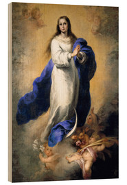 Obraz na drewnie  The Immaculate Conception - Bartolome Esteban Murillo