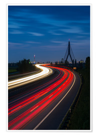 Plakat  Highway to Dusseldorf - rclassen