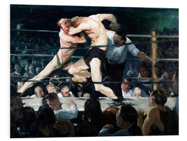 Obraz na PCV  Stag at Sharkey's - George Wesley Bellows