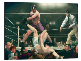 Obraz na aluminium  Dempsey and Firpo - George Wesley Bellows