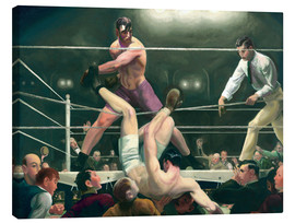 Obraz na płótnie  Dempsey and Firpo - George Wesley Bellows