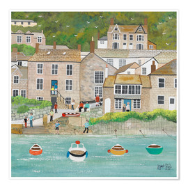 Plakat The wharf in Mousehole