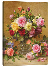 Obraz na płótnie  Victorian Roses - Albert Williams