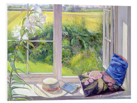 Obraz na PCV  Reading window seat - Timothy Easton