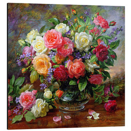 Obraz na aluminium  Roses - the perfection of summer - Albert Williams