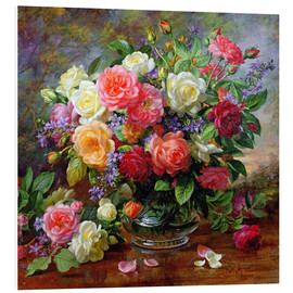 Obraz na PCV  Roses - the perfection of summer - Albert Williams