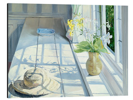 Obraz na aluminium  Still life in front of the window - Timothy Easton