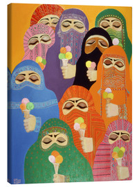 Obraz na płótnie  The Impossible Dream, 1988 - Laila Shawa