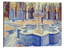 Obraz na aluminium  The blue fountain - Lucy Willis