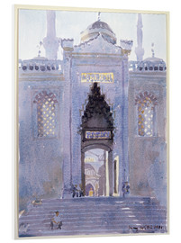 Obraz na PCV  Gateway to The Blue Mosque - Lucy Willis