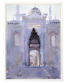 Plakat  Gateway to The Blue Mosque - Lucy Willis
