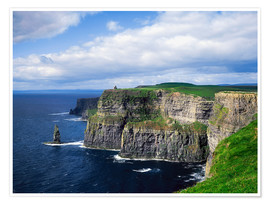 Plakat  Cliffs of Moher - The Irish Image Collection