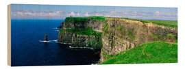 Obraz na drewnie  Cliffs of Moher - The Irish Image Collection