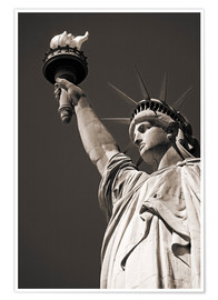 Plakat statue of Liberty