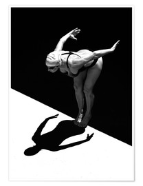 Plakat  A woman jumps into the water I - Ben Welsh