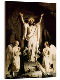 Obraz na drewnie  The resurrection - Carl Bloch
