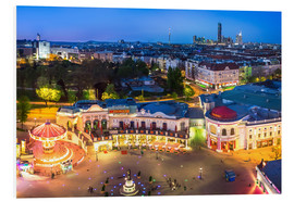 Obraz na PCV  View from the Vienna Giant Ferris Wheel on the Prater - Benjamin Butschell