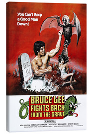 Obraz na płótnie  Bruce Lee Fights Back from the Grave - Entertainment Collection