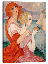 Obraz na płótnie  On the road to Anacapri - Gerda Wegener