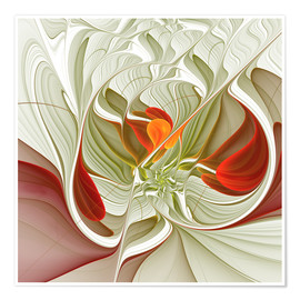 Plakat Fractal Bring Color Into Your Life