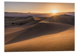 Obraz na PCV  Sunset at the Dunes in Death Valley - Andreas Wonisch