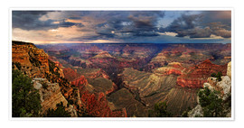 Plakat Grand Canyon View