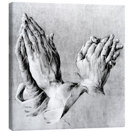 Obraz na płótnie  Hands of the Pope and an apostle - Albrecht Dürer