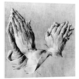 Obraz na PCV  Hands of the Pope and an apostle - Albrecht Dürer