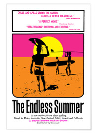 Plakat  The Endless Summer - Entertainment Collection