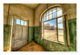 Plakat  Sand in the premises of an abandoned house - Robert Postma