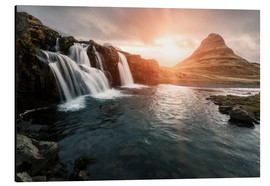 Obraz na aluminium  Kirkjufell - Images Beyond Words