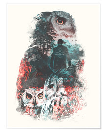 Plakat  The Owls are Not What They Seem - Barrett Biggers