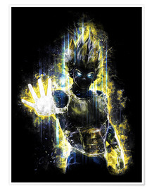 Plakat  Vegeta Fury - Barrett Biggers