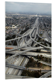 Obraz na PCV  Highways in Los Angeles - David Wall