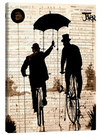 Obraz na płótnie  The umbrella - Loui Jover