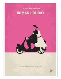Plakat Roman Holiday