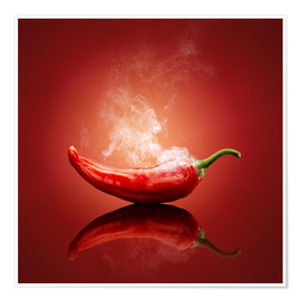 Plakat Smoking chilli