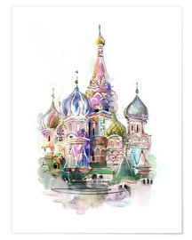 Plakat  St. Basil's Cathedral