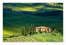 Plakat House in Tuscany