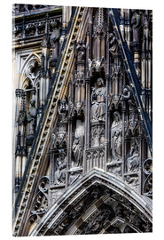 Obraz na szkle akrylowym  Facades detail at Cologne Cathedral