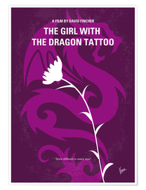 Plakat The Girl With The Dragon Tattoo