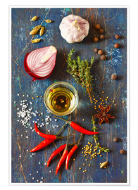 Plakat Spices and Herbs