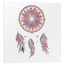 Obraz na PCV  Dream Catcher red-blue