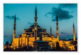 Plakat  Blue Mosque in Istanbul