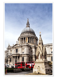 Plakat Cathedral in London