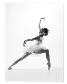 Plakat Beautiful ballet dancer