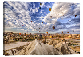 Obraz na płótnie  Balloon spectacle Cappadocia - Turkey - Achim Thomae